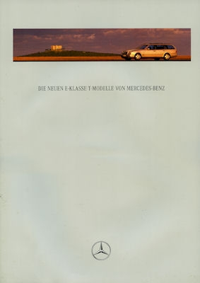 Mercedes-Benz Neue E-Klasse T-Modelle Prospekt 1997