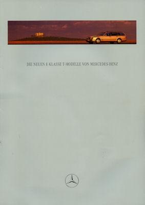 Mercedes-Benz Neue E-Klasse T-Modelle Prospekt 1996