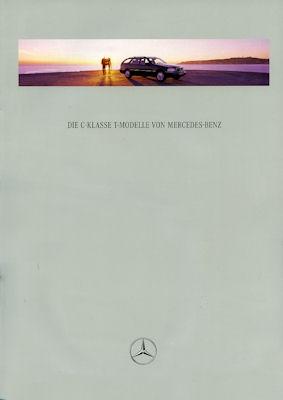 Mercedes-Benz C-Klasse T-Modelle Prospekt 1996