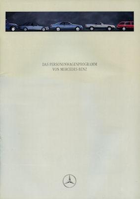 Mercedes-Benz Programm 1995