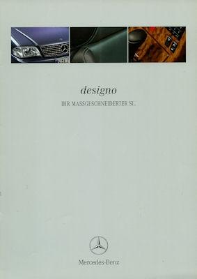 Mercedes-Benz SL Designo Prospekt 2.1999