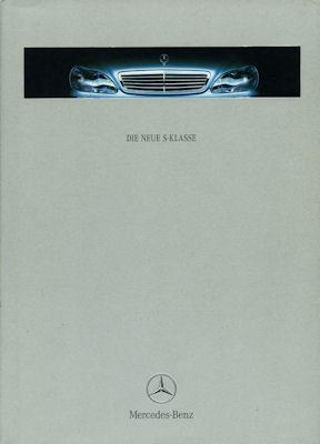 Mercedes-Benz S Klasse Prospekt 2.1999