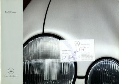 Mercedes-Benz E Klasse Prospekt 5.1999