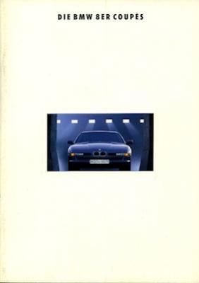 BMW 8er Coupés Prospekt 1993