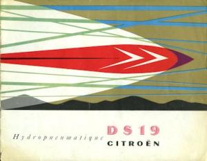 Citroen DS 19 Prospekt 1957
