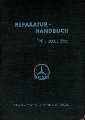 Mercedes-Benz L 2000/2500 Reparaturanleitung 1939