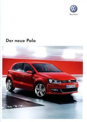 VW Polo Prospekt 2009