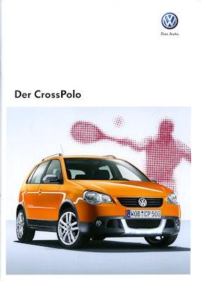 VW CrossPolo Prospekt 2009