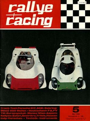 Rallye Racing 1969 Heft 5