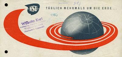 NSU Programm ca. 1950