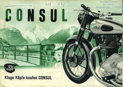 NSU Consul Prospekt 5.1951