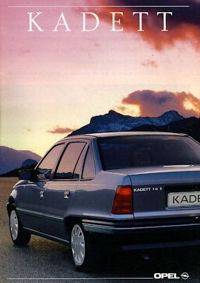 Opel Kadett E Prospekt 1990