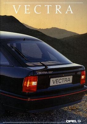 Opel Vectra Prospekt 1990