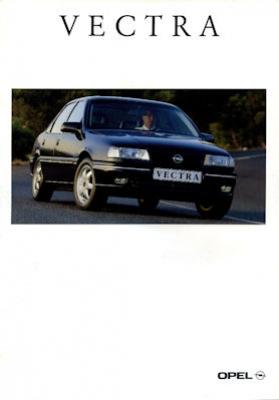 Opel Vectra Prospekt 1995