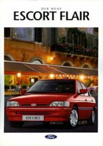 Ford Escort Flair Prospekt 1992