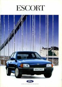 Ford Escort Prospekt 1990