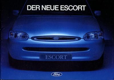 Ford Escort Prospekt 1995