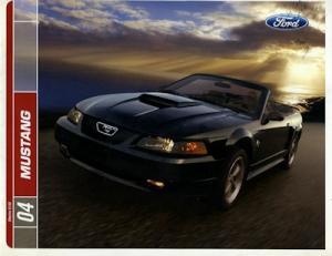 Ford Mustang Prospekt 2004