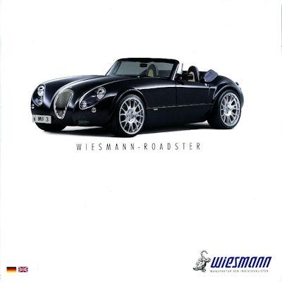 Wiesmann Roadster Mf 30 3 Prospekt 2006 Nr Wiesmann20610