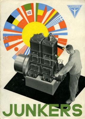 Junkers Motoren Prospekt 1932