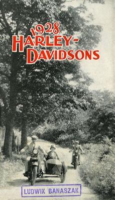 Harley-Davidson Programm 1928