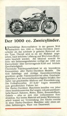 Harley-Davidson Programm 1928 2