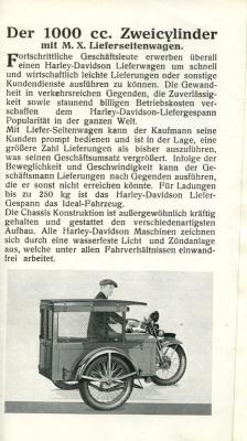 Harley-Davidson Programm 1928 3