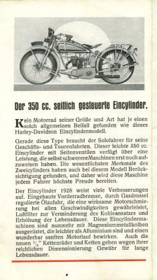 Harley-Davidson Programm 1928 7