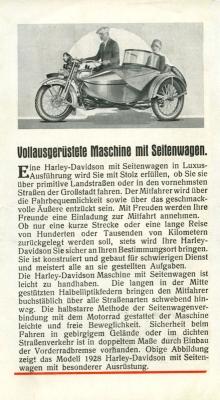 Harley-Davidson Programm 1928 8