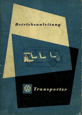 VW Transporter Bedienungsanleitung 1954