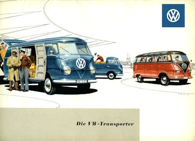 VW Bus / Transporter Mappe 1958