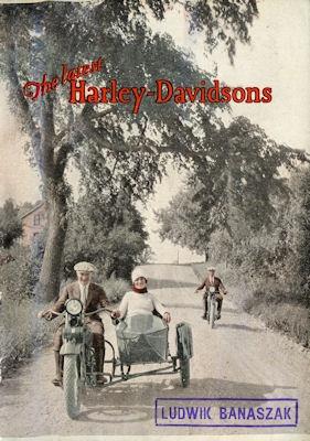 Harley-Davidson Programm 1927