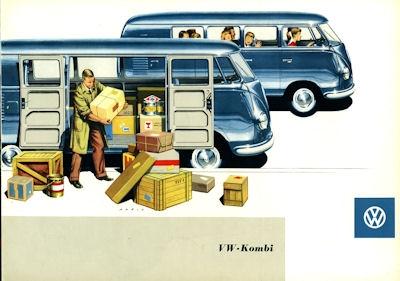 VW Kombi Prospekt 1958