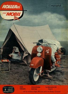 Rollerei und Mobil / Roller Mobil Kleinwagen 1956 Heft 5