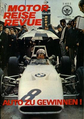 Motor Reise Revue 1969 Heft 8