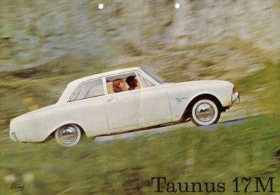 Ford Taunus 17 M Prospekt ca. 1961