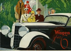 Mercedes-Benz Wagen für Sechs Prospekt 5.1932