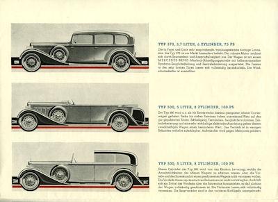 Mercedes-Benz Wagen für Sechs Prospekt 5.1932 3