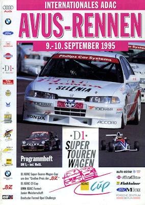 Programm AVUS 9.-10.9.1995
