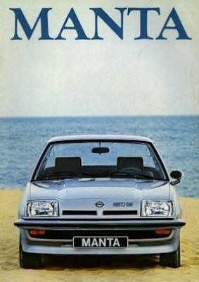 Opel Manta Prospekt 1979