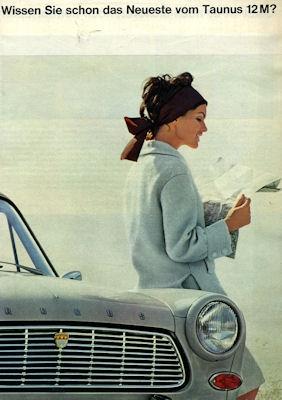 Ford Taunus 12 M Prospekt ca. 1966
