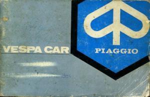 Vespa Car Bedienungsanleitung 1977 e+f