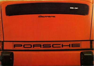 Porsche 911 2,7 Liter Prospekt 1974 e