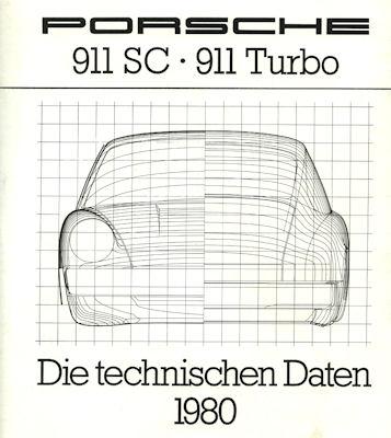 Porsche 911 Technische Daten 1980
