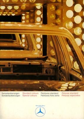 Mercedes-Benz Farben 5.1970