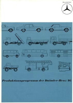 Mercedes-Benz Programm 6.1969