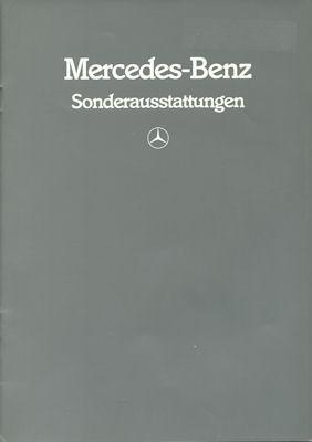 Mercedes-Benz Sonderausstattung 5.1984