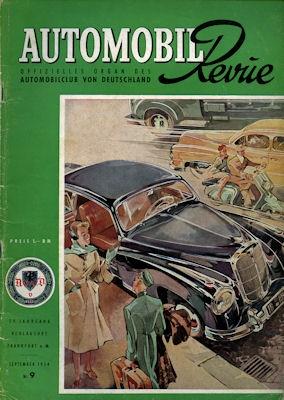 Automobil Revue 1954 Heft 9