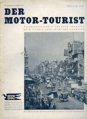 Motor-Tourist 1931 Heft 2