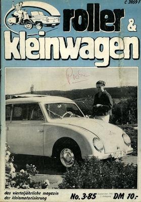 Roller & Kleinwagen 1985 Heft 3